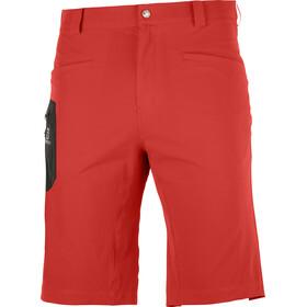 Salomon Wayfarer Shorts Men, rood
